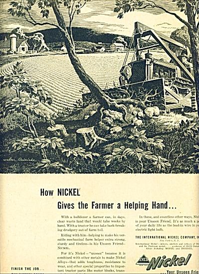 1945 -  The International Nickel company ad (Image1)