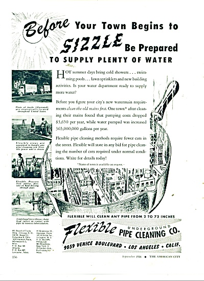 Flexible Underground pipe cleaning co. 1946 (Image1)
