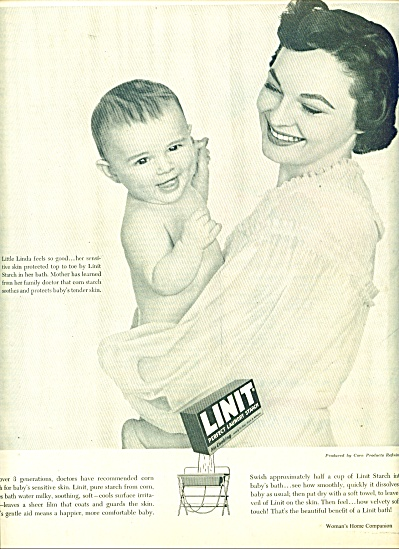 1954 -  Linit Laundry Starch ad (Image1)