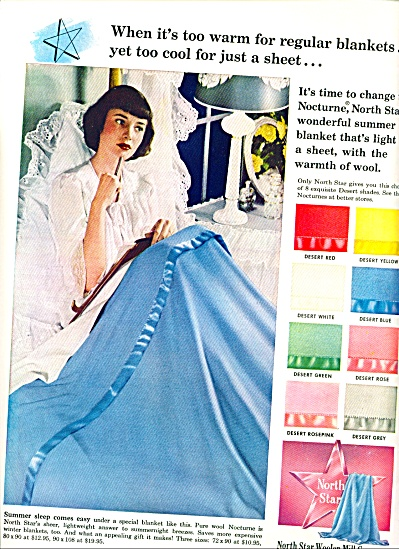 1950 -  North Star Woolen Mill company ad (Image1)