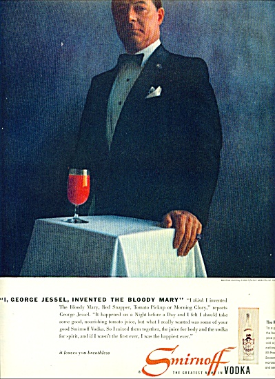 1955 - Smirnoff Vodka - George Jessel