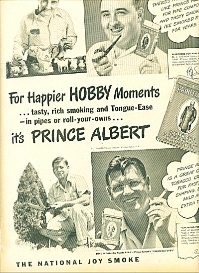 1947 -  Prince Albert tobacco ad (Image1)