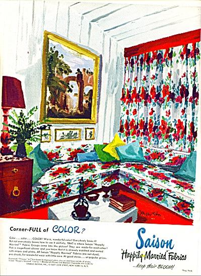 1948 -  Saison fabrics ad (Image1)