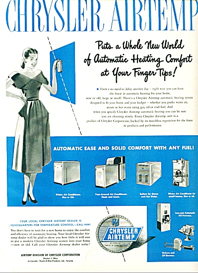 1948 - Chrysler Airtemp air conditioner ad (Image1)