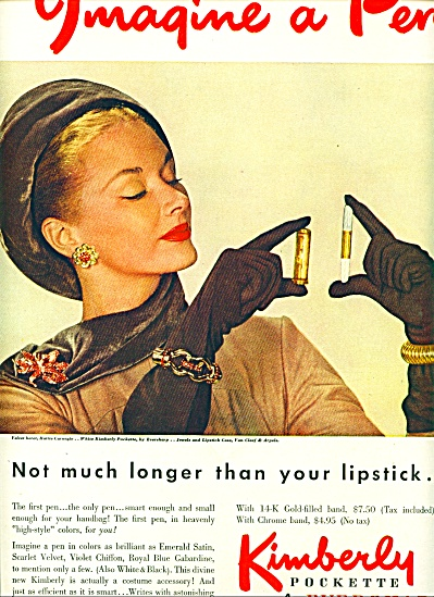 1947 -  Kimberly Pockette by Eversharp ad (Image1)