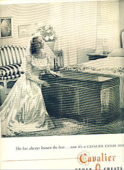 1947 - Cavalier cedar chests ad (Image1)