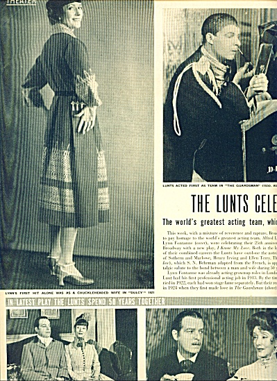 1949 - THE LUNTS  celebrate 25 years (Image1)
