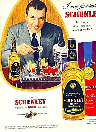 1949 -Schenley whiskies - ED SULLIVAN (Image1)