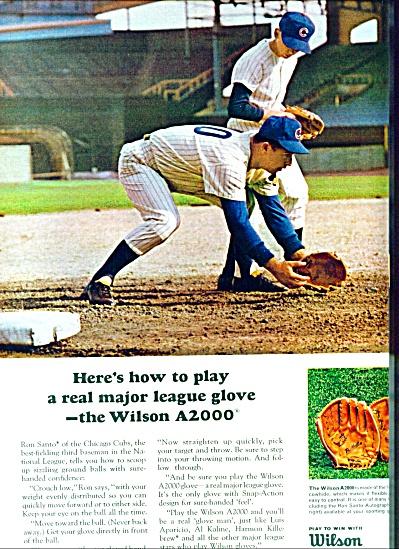 1966 -  Wilson sporting goods. (Image1)