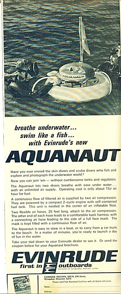 1966 -  Evinrude - Aquanaut ad (Image1)