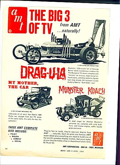 1966 -  AMT auto kits ad (Image1)