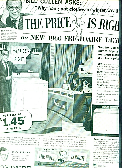 1959 - Frigidaire dryer - BILL CULLEN (Image1)