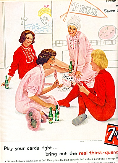 1961 - 7 Up Thirst Quencher Ad