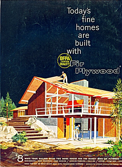 1961 -  Fir Plywood - DFPA tested ad (Image1)