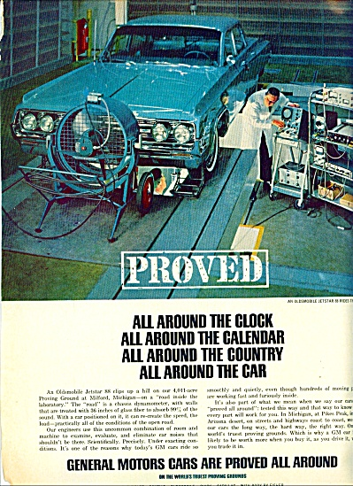 1964 -  General Motors cars ad (Image1)
