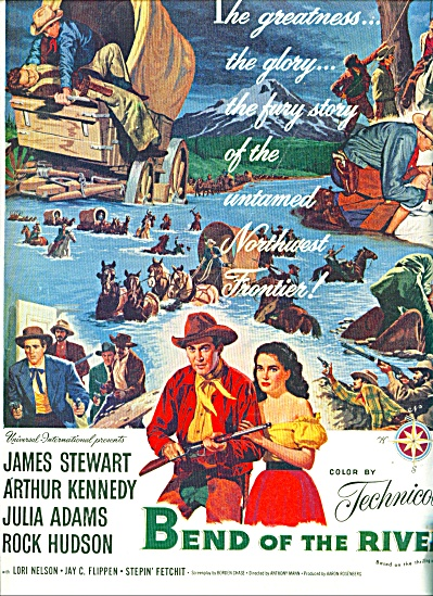 1952 - Movie: Bend Of The River - Stewart
