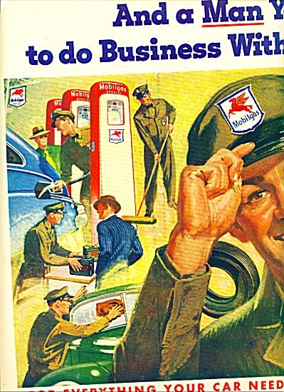 1948 -  Mobilgas Socony-Vacuum ad (Image1)