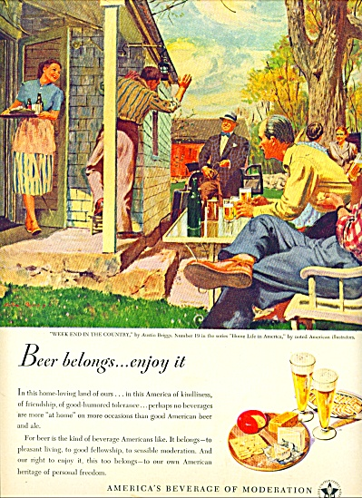 1948 - Beer  ad (Image1)