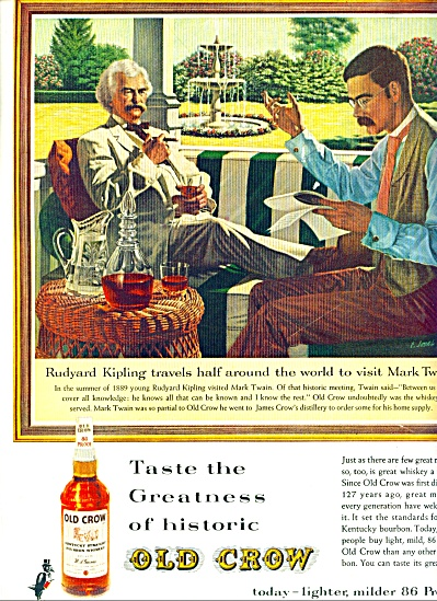 1952 -  Old Crow  whiskey (Image1)