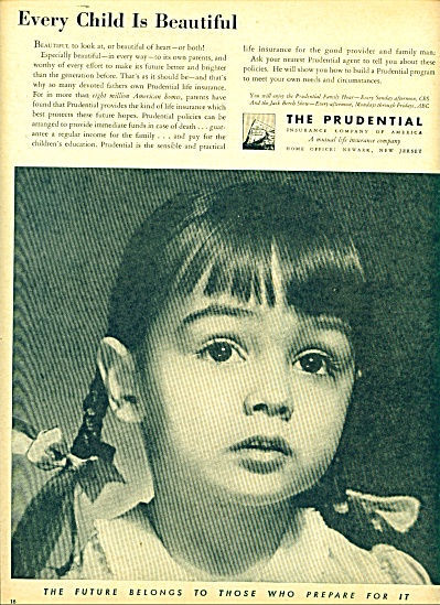 1946 -  The Prudential Insurance co. ad (Image1)