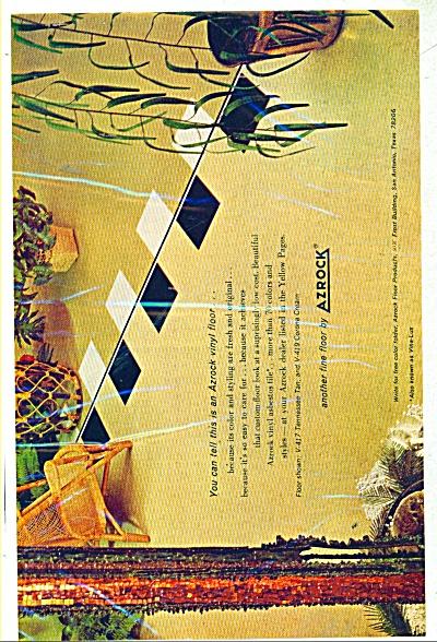 Azrock vinyl floor ad 1965 (Image1)