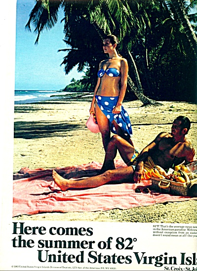 1983 - United States Virgin Islands ad (Image1)