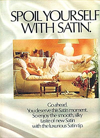 1983 -  Satin low tar cigarettes ad (Image1)