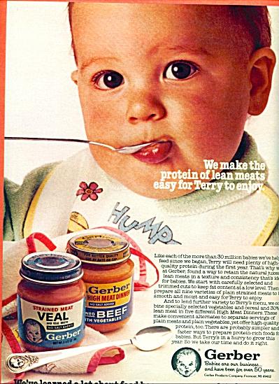 1983 -  Gerber baby food ad (Image1)