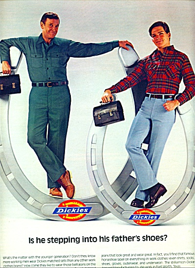 1983 - Dickies tailored jeans ad (Image1)