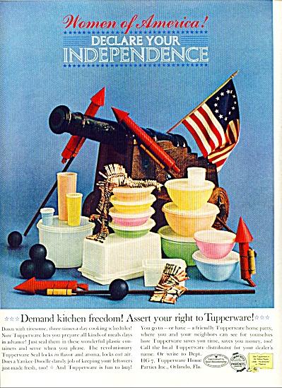 1961 -  Tupperware ad (Image1)