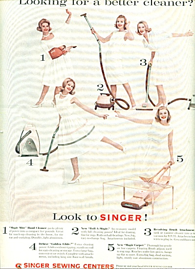 1960 -  Singer Sewing Centers ad (Image1)