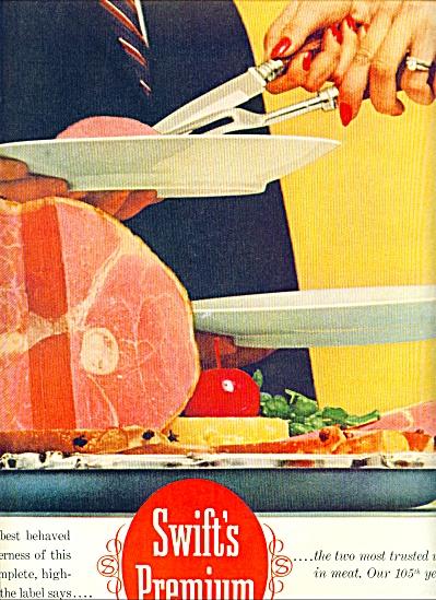 1960 -  Swift's Premium hams ad (Image1)