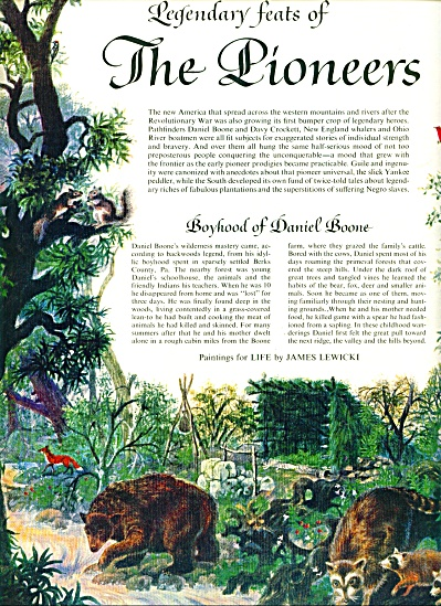 1960 - Folklore of America - The Pioneers (Image1)