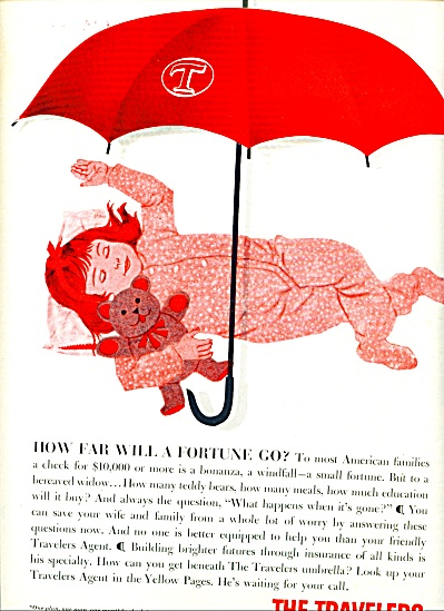 1960 -  The Travelers Insurance companies ad (Image1)