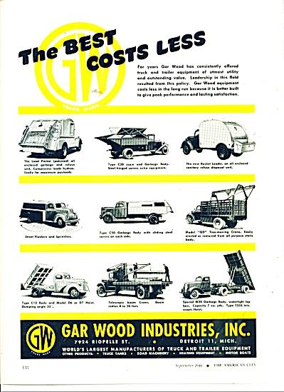 Gar Wood Industries, Inc., ad 1946 (Image1)