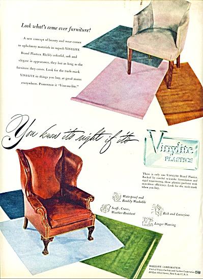 1947 -  Vinylite plastics ad (Image1)