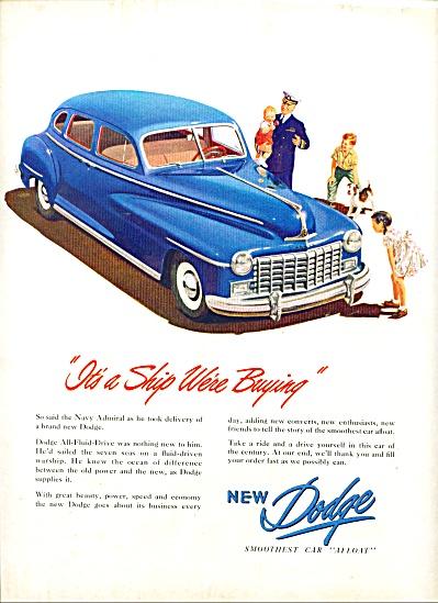 1947 -  Dodge auto ad (Image1)