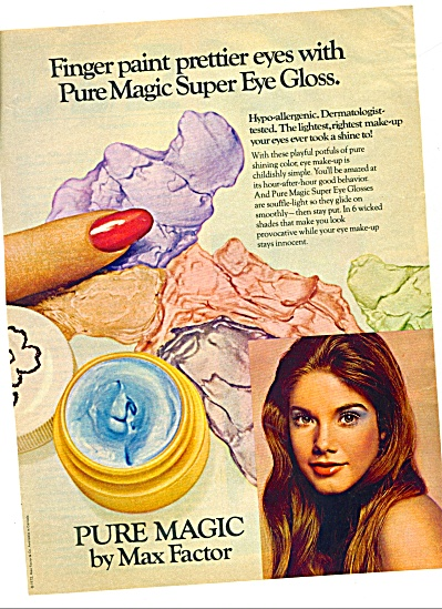 1972    Pure Magic by Max Factor ad (Image1)