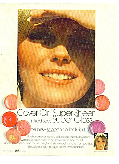 1972 -  Cover girl super sheer - CHERYL TIEGS (Image1)