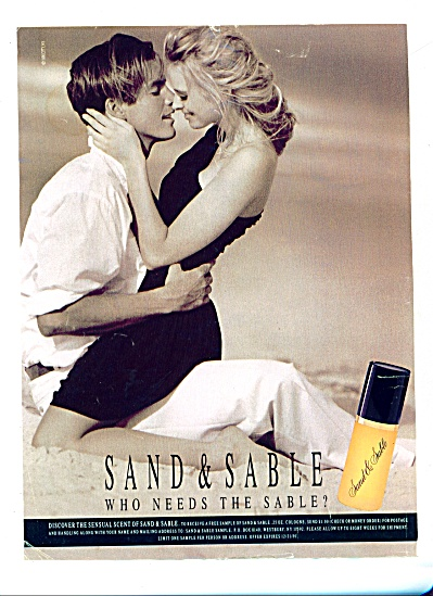 1991 -  Sand & Sable  cologne ad (Image1)