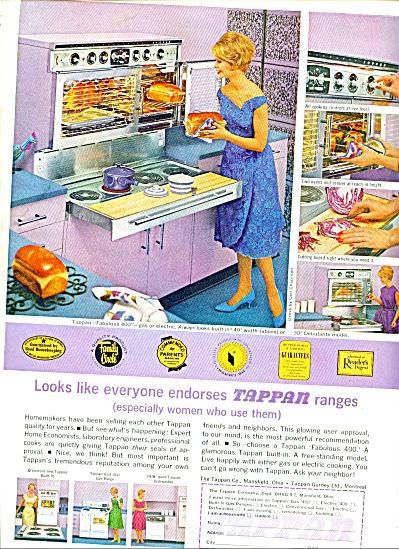 1962 -  Tappan ranges ad (Image1)