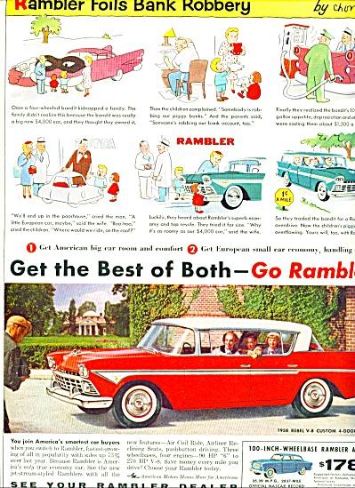1950 -  Rambler automobile ad (Image1)