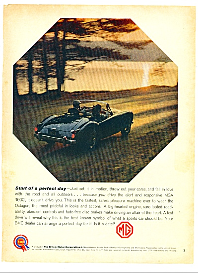 1960 -  MG automobile ad (Image1)