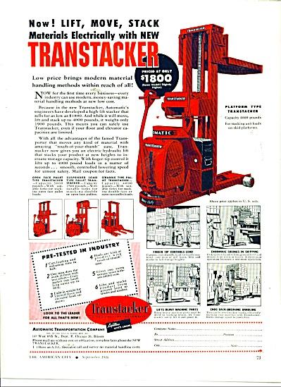 Transtacker (Platform type) ad 1946 (Image1)
