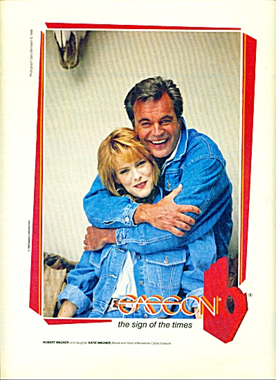 1988 - ROBERT WAGNER &DAUGHTER (Image1)