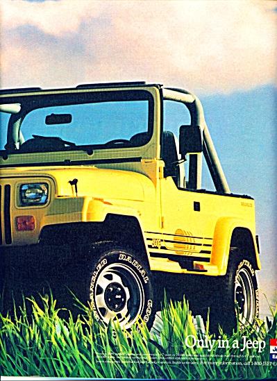 1988 -  JEEP  Wrangler auto ad (Image1)