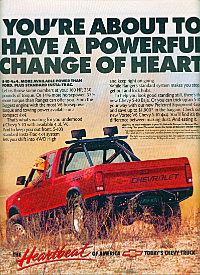 1988 - Chevrolet trucks ad (Image1)
