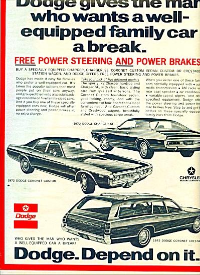 1971 -  Dodge automobiles ad (Image1)