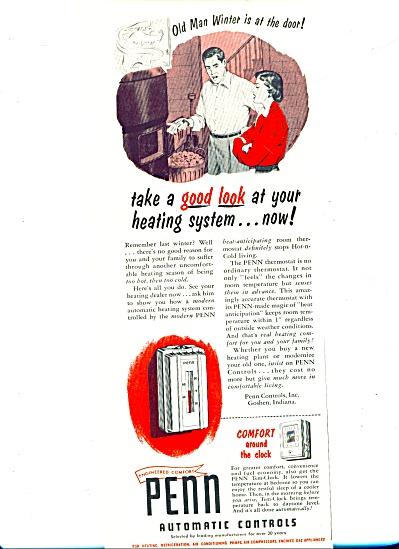 1953 -  Penn Automatic controls ad (Image1)