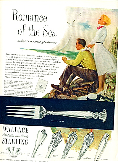 1953 - Wallace Sterling Ad
